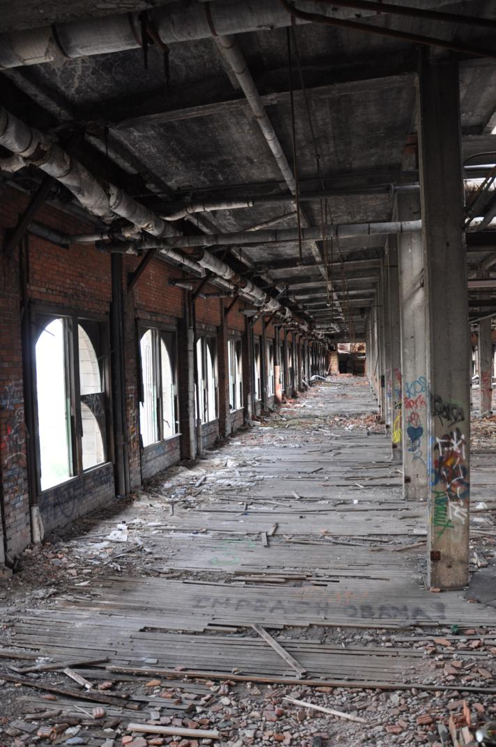 Forgotten Places Michigan Central Station Fort Marinus