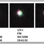Jupiter at various settings